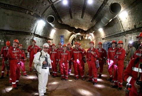 Exkursion der Arbeitsgruppe Strahlungsphysik