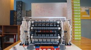 ATLAS Detektor - aus Lego nachgebaut