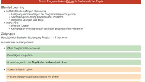 Programmierkurs python