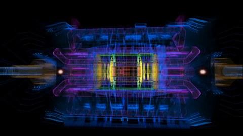 Atlas-Detektor am CERN