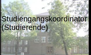 studentischer Studiengangskoordinator