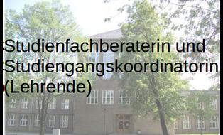Studienfachberaterin und Studiengangskoordinatorin Didaktik