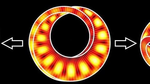 Topologische Anregungen in Möbius-Resonatoren