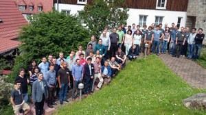 Teilnehmer der 2. Klausurtagung in Krippen