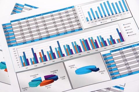 Seite mit Statistiken