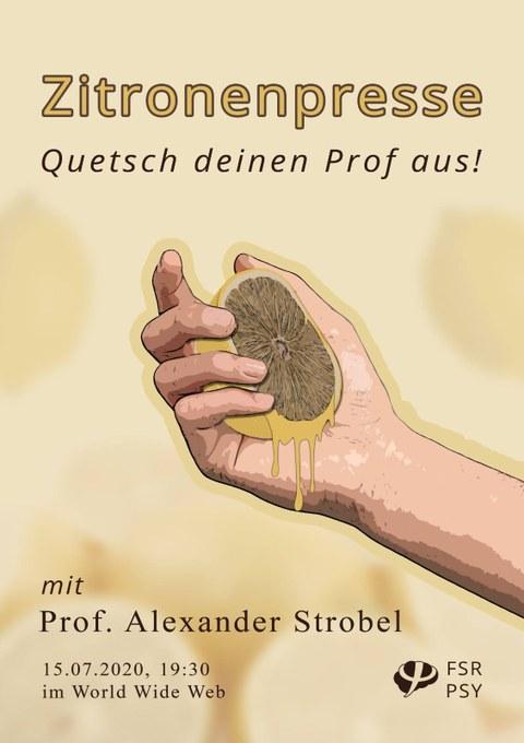 Plakat der Zitronenpresse