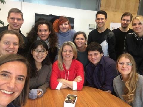 Team der Professur für Sozialpsychologie