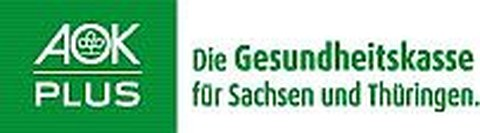 LOGO der Gesundheitskasse AOK PLUS Sachsen Thüringen