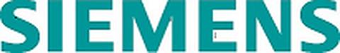 Siemens Logo in Türkis