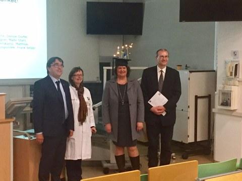 Verteidigung Dissertation Dr. Gabriele Buruck