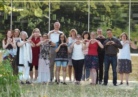 Das Team der Arbeits- und Organisationspsychologie gratuliert Frau Prof. Buruck zur Berufung nach Zwickau