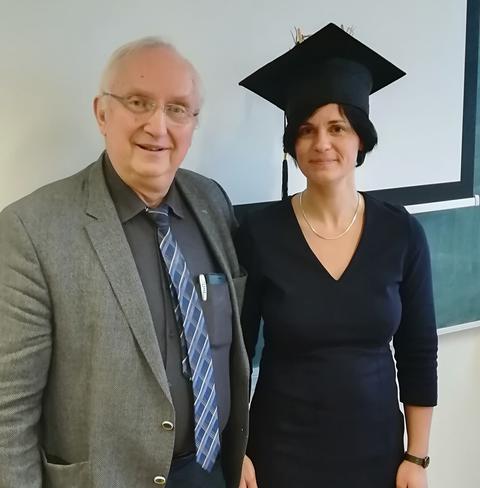Foto mit Prof. Richter im Querformat