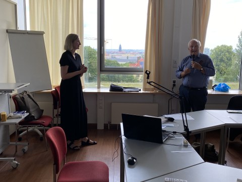 Dr. Rothländer und Prof. Richter