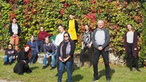 Gruppenfoto der TeilnehmerInnen von Summer School WOP 2020