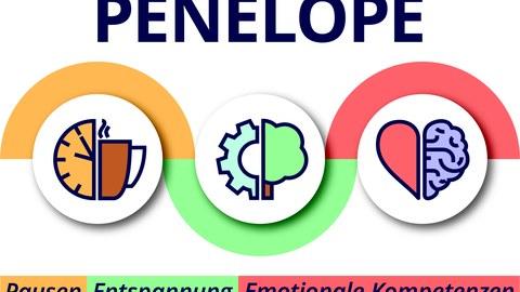 buntes Logo des Projektes Penelope