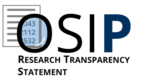 OSIP Research Transparency Statement