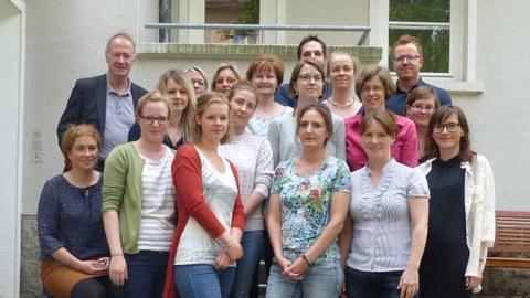 Teamfoto der Institutsambulanz und Professur Behaviorale Psychotherapie
