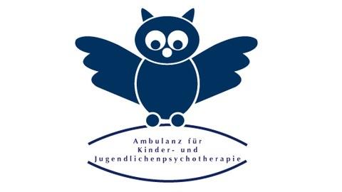 Logo Ambulanz für Kinder und Jugendliche in Form einer Eule