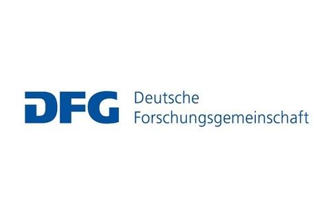 The capital letters DFG of the Deutsche Forschungsgemeinschaft
