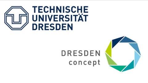 Logo der TUD und Dresden concept