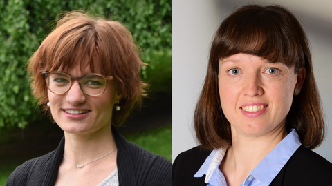 Portraits von Klara Schröder und Kristin Drexler