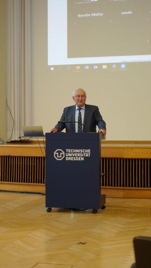 Bühler-Medaille für Psychologie-Professor em. Peter Richter