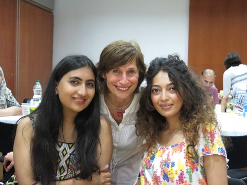Rita E., Maria Richter-Babekoff, Bahar R