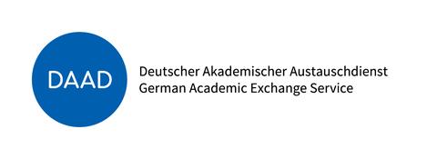 balues DAAD-Logo mit Text