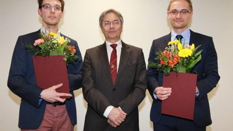 Anton Kirch, Rektor TUD und Dr. Martin Schwarze