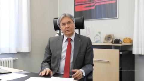 TU Dresden Rektor Prof. Hans Müller-Steinhagen