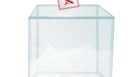 Wahlurne Symbolbild