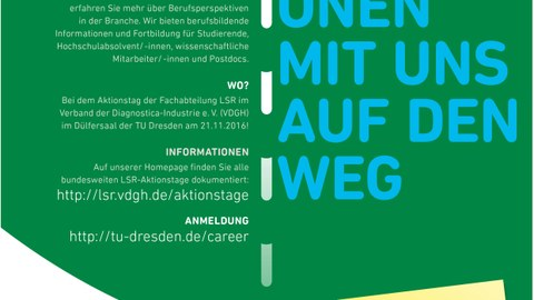 Life Science Research Aktionstag Plakat