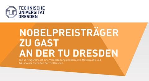 Logo Nobelpreisträger zu Gast an der TU Dresden