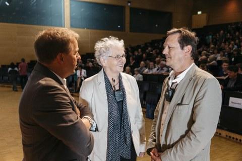 Clemens Kirschbaum, CNV und Michael Brand