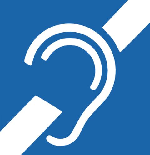 Link zu Informationen für Hörgeschädigte