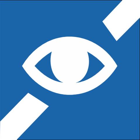 Link zu Informationen für Sehgeschädigte