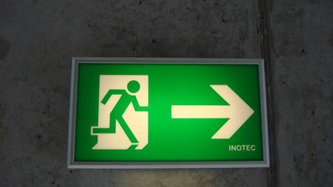 Exitschild