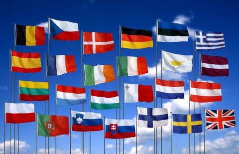 Flaggen EU