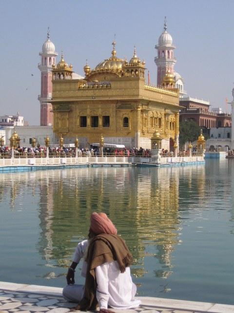Goldener Tempel in Amritsar, Indien