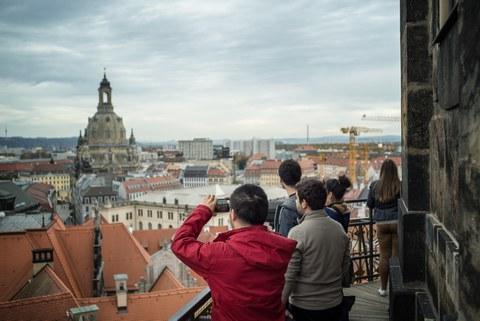 Exkursion über Dresden