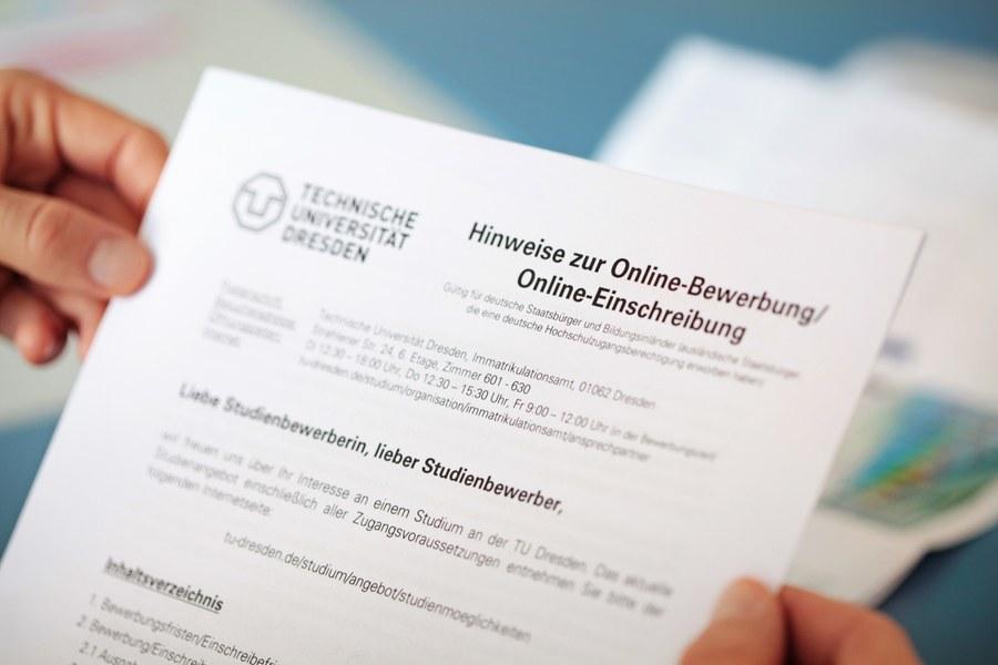 Studienvoraussetzungen Studium Tu Dresden