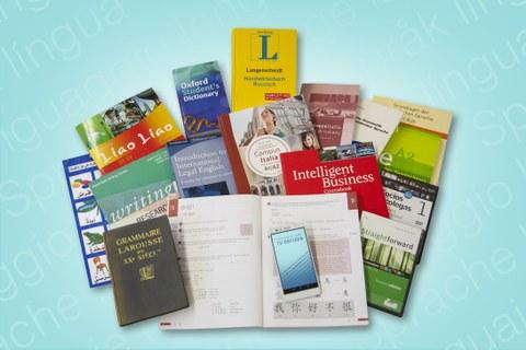 Arbeitsmaterialien in der Sprachausbildung