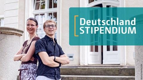 Imagebild Förderer Stipendiat Paar