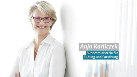 Portrait Bildungsministerin Anja Karliczek