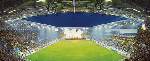 DDV-Stadion des Fußballvereins Dynamo Dresden