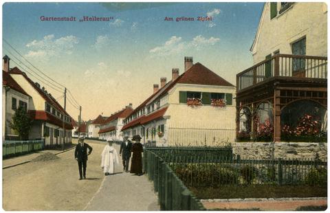 Hellerau 1911 - Am grünen Zipfel