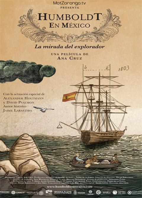 Humboldt en Mexico Plakat