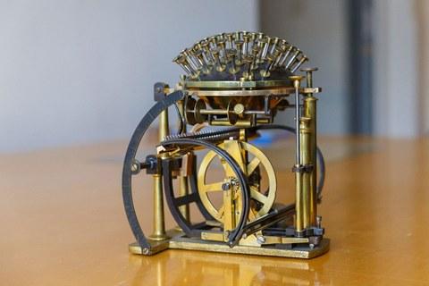 Technische Sammlungen Schreibkugel