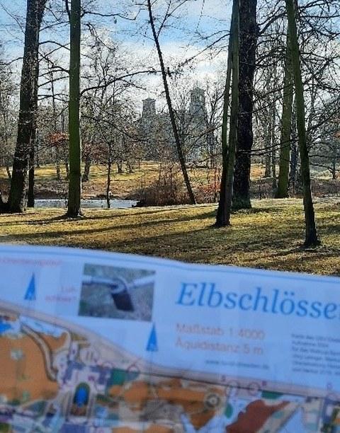 Orienteering Elbe castles