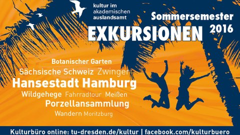 Cultural programme in the summer semester 201616